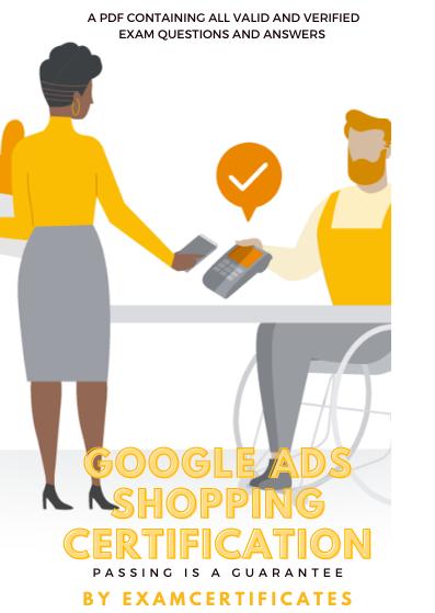 Google Ads Shopping CertificationExam