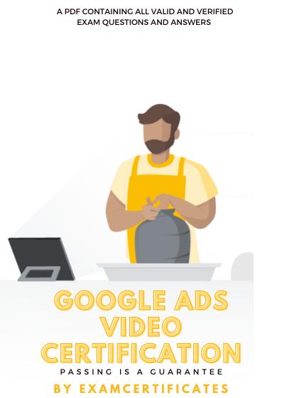 Google Ads Video CertificationExam