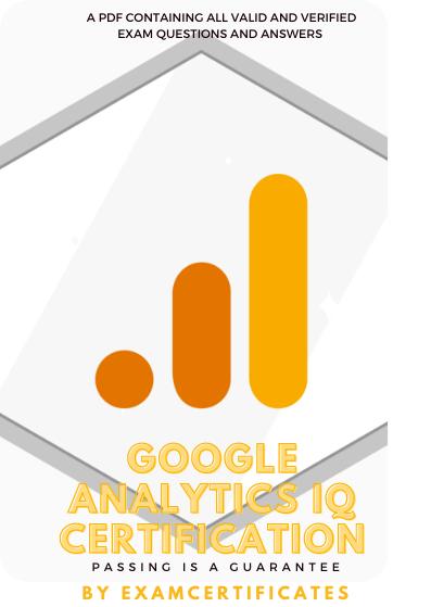 Google Analytics Individual Qualification Certification Exam
