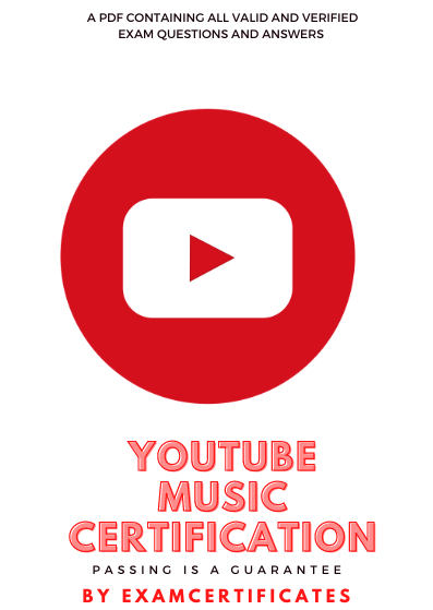 YouTube Music Certification exam answers