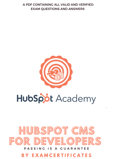 hubspot cms for developers exam answers