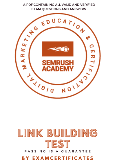 Semrush Link Building Test Answers pdf