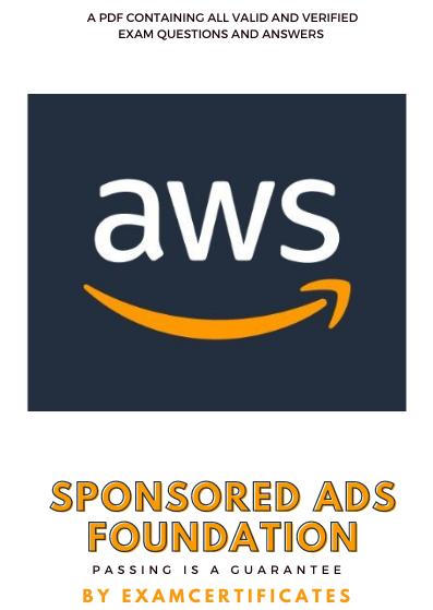 Amazon Sponsored Ads Certification Exam