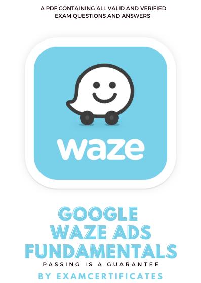 Waze Ads Fundamentals Exams