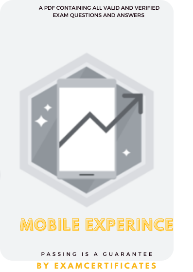 Mobile Experience Certification Exam