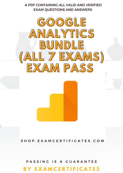 Google Analytics Exam Pass Bundle